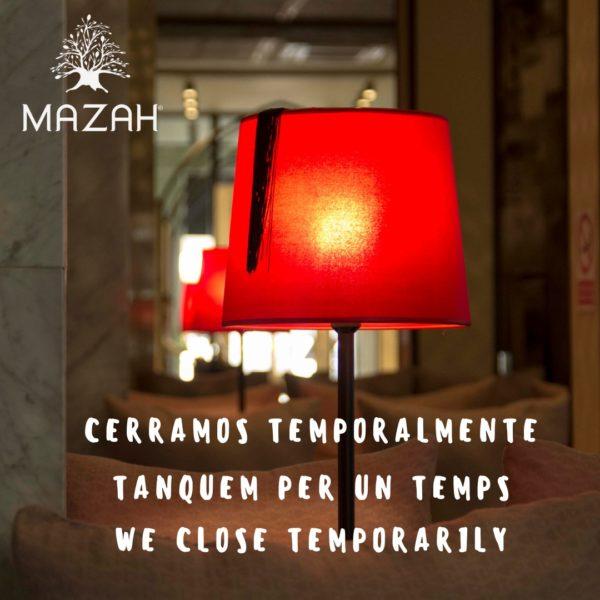 mazah cerrado temporalmente